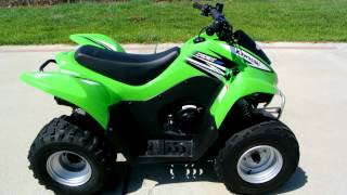 1. 2011 Kawasaki KFX90 Youth ATV