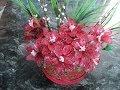Flores de fantasía de gelatina - YouTube