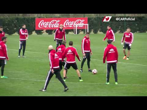Entrenamiento en River Camp (30/06)