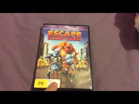 DVD Reviews Episode #19 - Escape from Planet Earth - (2013 Australian DVD)