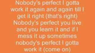 A video of the song lyrics to Hannah Montana Nobodys Perfect. Please comment and requests are welcome! Here's The ...