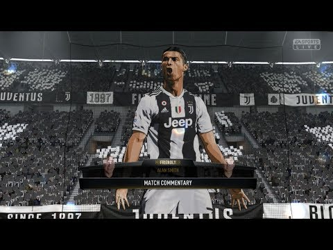 Fifa 19 Juventus V Liverpool | Xbox One S / PS4 Full Match Gameplay In HD