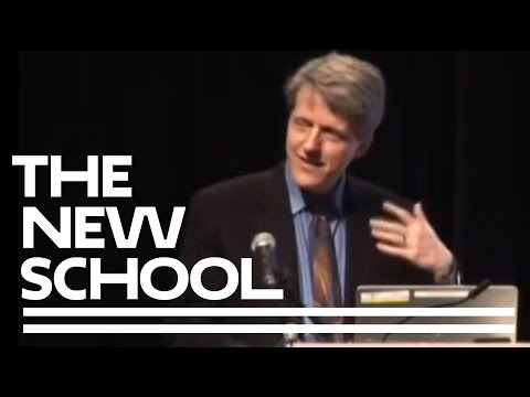 Robert Shiller auf, wie Human Psychology Drives the Economy | The New School