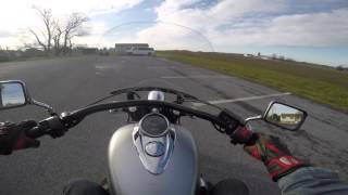 2. 2013 used Honda 1300 Interstate test drive review