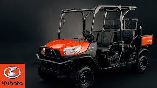 5. New RTV 4-Seater by Kubota