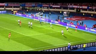 Marko Arnautovic im WM-Qualifikationsspiel gegen Deutschland