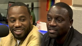 Akon and Young Greatness Interview at The Breakfast Club Power 105.1