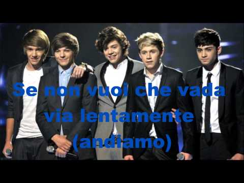 One Direction-Kiss You-Traduzione [ITA]