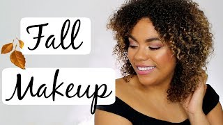 Easy Fall Makeup Tutorial 2017, featuring COVERGIRL's new Peacock Flare Mascara!