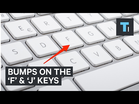 Why Does Your Keyboard Have Bumps?