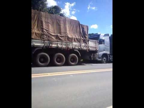 greve dos caminhoneiros em papanduva sc