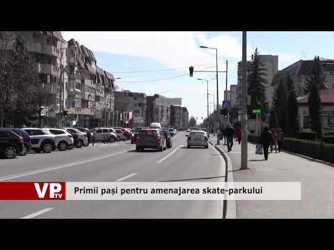 Primii pași pentru amenajarea skate-parkului