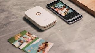 Samsung Galaxy e HP Sprocket per i tuoi momenti speciali