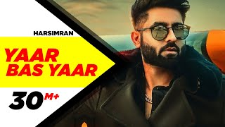Video Yaar Bas Yaar | Harsimran | Desi Crew | Latest Punjabi Song 2018 | Speed Records MP3, 3GP, MP4, WEBM, AVI, FLV September 2018