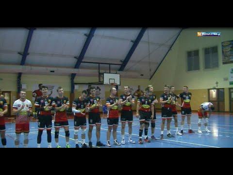 Siatkarze Hetmana Włoszczowa przegrali z drużyną Tubądzin Volley MOSiR Sieradz-Senior 1:3(fragmenty)