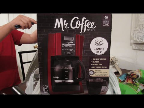 Mr. Coffee 12 Cup Coffee Maker (Unboxing)