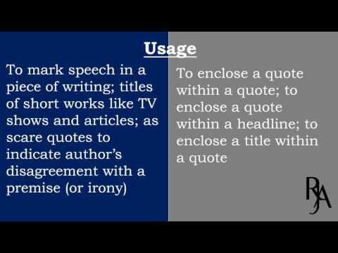 Difference between double Quotes and single Quotes