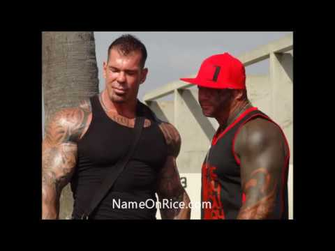 RICH PIANA AND GIRLFRIEND BODY BUILDING CONTEST AT MUSCLE BEACH VENICE BEACH CALIFORNIA MAY 28, 2013