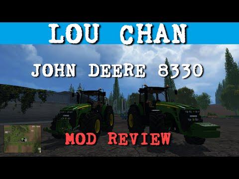 John Deere 8330 Deluxe Pack