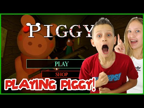 PLAYING PIGGY WITH KARINA!