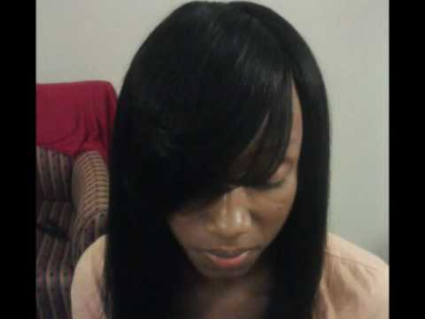 how to do an invisible part sew in &  basic Sew In