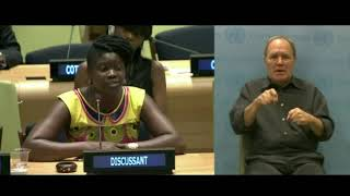Diakhoumba Gassama's Intervention at HLPF: http://webtv.un.org