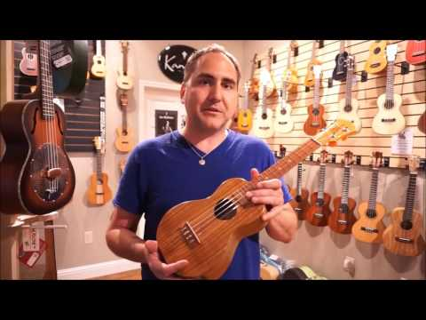KoAloha Opio All Solid Acacia Concert Ukulele - Demo by UKE Republic