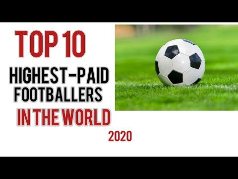 Top 10 Highest-Paid Footballers 2020