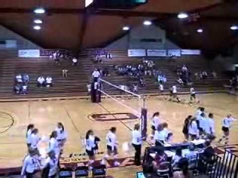Volleyball vs. Ferrum 9/7/10 Highlights