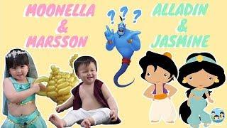 Video Aladdin and Jasmine atau Bakpao and Cilok nih? #MFVLOG11 MP3, 3GP, MP4, WEBM, AVI, FLV April 2019