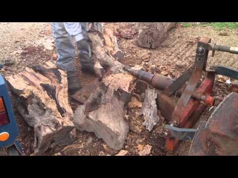 Σκίσιμο ξύλων στα Χανιά - Δυνατός ξυλοσκιστης