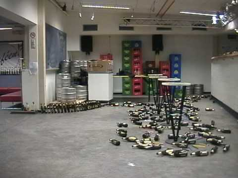 Beer Bottle Dominoes