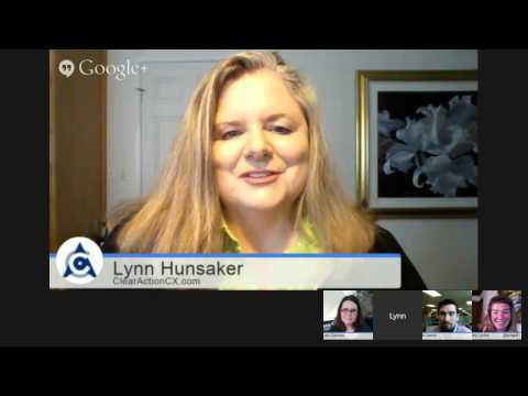 CXPA Hangout with the CX Experts:  Let's Talk CX Day!