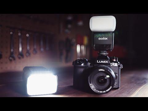 BEST Flash System for PANASONIC Cameras - GODOX TT350 for GH5 & G9