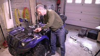 10. Yamaha 2005 Kodiak 400 ATV Carburetor Removal and Rebuild