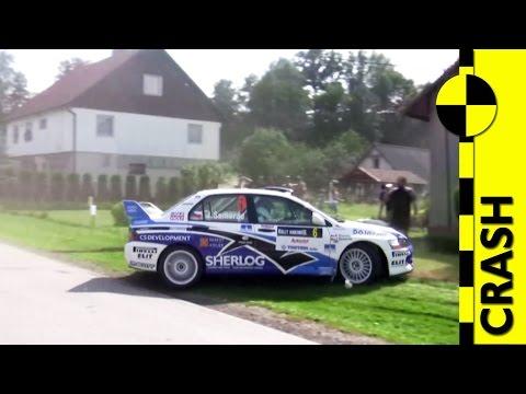 CRASH | Josef Semerád - Mitsubishi Lancer EVO IX | Rally Krkonoše 2009