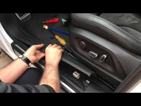 Audi Q5 / SQ5 - Aus & Einbau Fußstütze (HD)