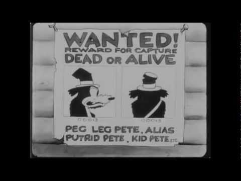 Oswald The Lucky Rabbit - 1928 - Ozzie of the Mounted (видео)