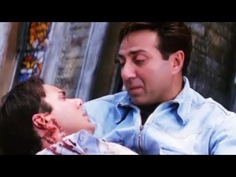 Lakeer End Scene | लकीर फ़िल्म का अंतिम दृश्य | Best Emotional Scene | Sunny Deol, Sunil Shetty