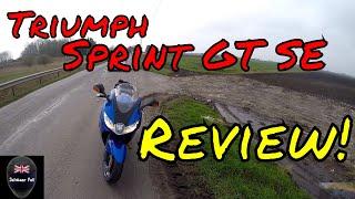 7. Triumph Sprint GT SE 1050 Road Review