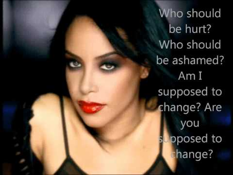 Aaliyah- We Need A Resolution Lyrics