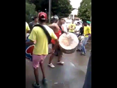 Catupé Amarelo São Benedito e Santa Efigênia na Igrejinha de Goiandira em 17-01-2016