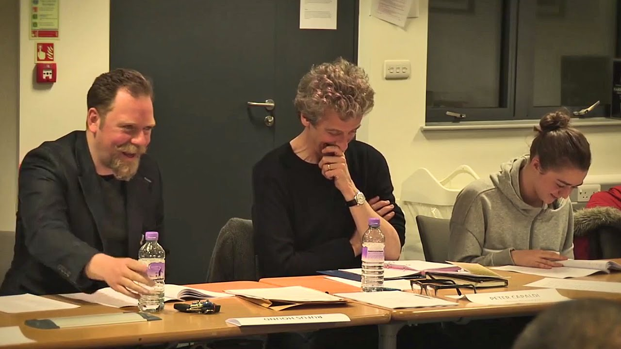 Watch Rufus Hound & Maisie Williams at Doctor Who Series 9 Readthrough