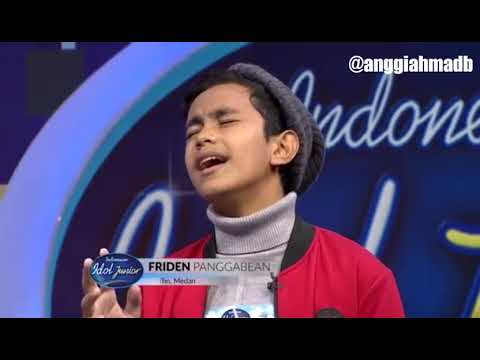 FRIDEN PANGGABEAN - YOU ARE THE REASON (CALUM SCOTT) INDONESIAN IDOL JUNIOR 2018