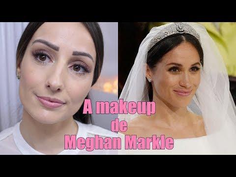 Maquiagem Meghan Markle - Casamento Real Meghan e Harry