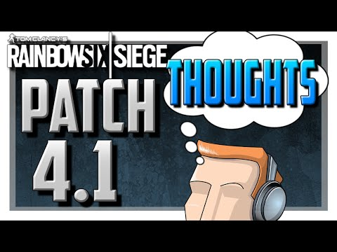 Video Pulse and Shotgun Nerf (Patch 4.1 Thoughts) | Rainbow Six Siege download in MP3, 3GP, MP4, WEBM, AVI, FLV January 2017