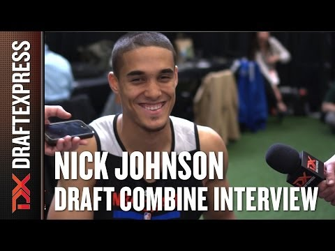 Nick Johnson Draft Combine Interview