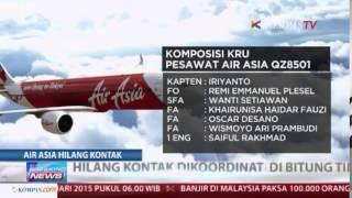 Tim SAR Pangkal Pinang Cari AirAsia Yang Hilang Kontak