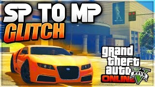 Sep 6, 2015 ... GTA5 Online 1.30 Money Glitch: (Solo Money P 1.30) *Unlimited ... 5 glitches n1.30,single player cars online,sp to mp glitch,sp car online gta 5,bring ...