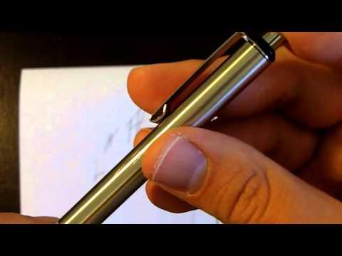 EDC Gear: Zebra F-701 Stainless Steel Pen